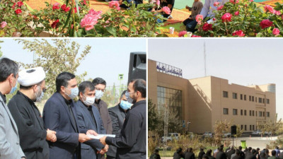 مراسم اربعین حسینی در دانشگاه بزرگمهر قائنات برگزار شد