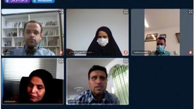 برگزاری اولین نشست مجازی هیات ورزش های دانشگاهی شهرستان قاینات